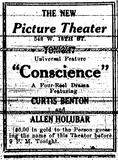 """""""New Theatre"""" Ad"""