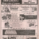 July 1978 Schedule for Screen II