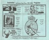 September 1983 Schedule