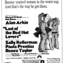 "WINDSOR STAR AD FOR ""LAST OF THE RED HOT LOVERS"" DEVONSHIRE 1 THEATRE"