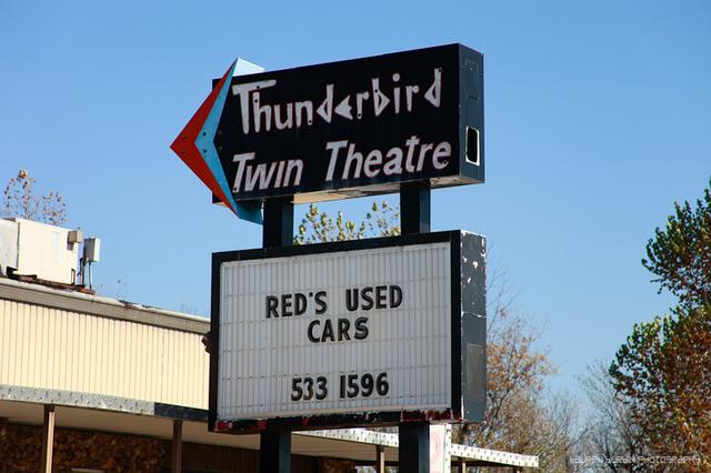 Thunderbird Twin Drive-In