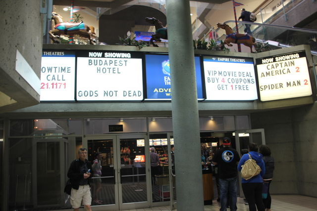 University 4 Mall Entrance