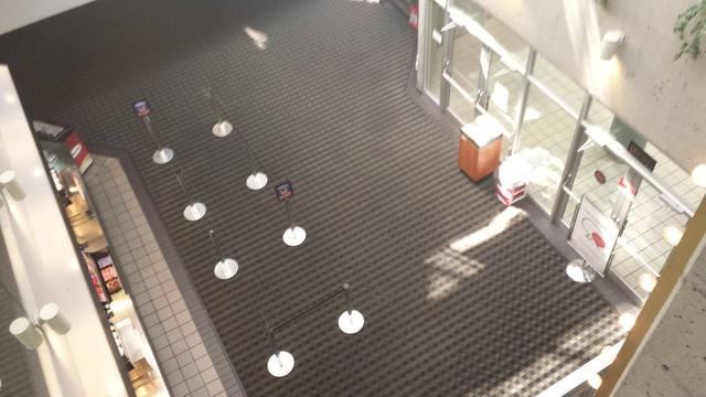University 4 above shot of lobby