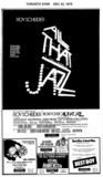 "TORONTO STAR AD FOR ""ALL THAT JAZZ & MORE"" - UPTOWN THEATRES"