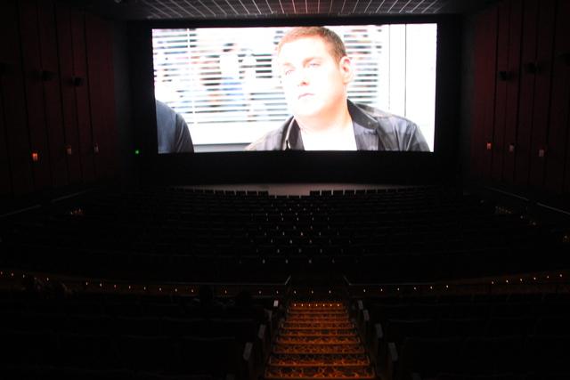 Auditorium #8 during trailers