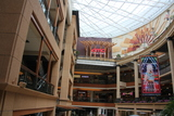 Exterior from lower level of mall
