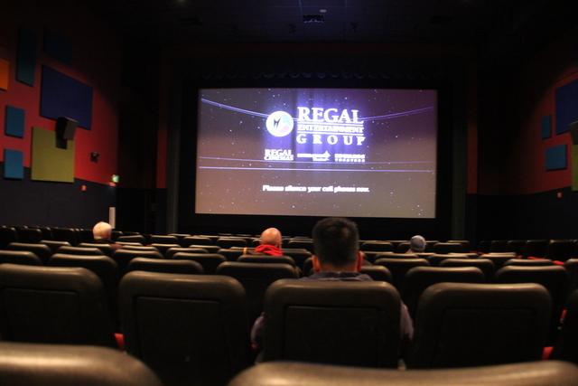 Auditorium #4 during preshow