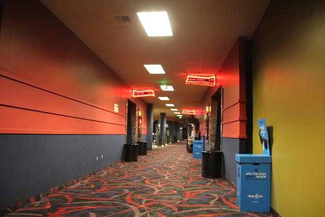 Auditorium #1-8 hallway