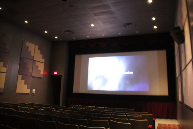Auditorium #5 during trailers