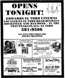 November 23rd, 1984 grand opening ad