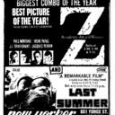 "TORONTO STAR AD FOR ""Z"" & ""LAST SUMMER"" - NEW YORKER THEATRE"