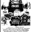 """TORONTO STAR AD FOR """"A BRIDGE TOO FAR"""" SKYLINE AND OTHER THEATRES"""