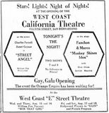 August 15th, 1928 grand opening ad