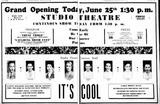 June 25th, 1936 grand opening ad