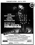 "TORONTO STAR AD FOR ""ROLLERBALL"" - UNIVERSITY THEATRE"
