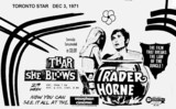 """TORONTO AD FOR """"THAR SHE BLOWS"""" VAUGHAN THEATRE"""