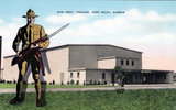 Fort Riley Barlow Theatre, Fort Riley, Kansas.
