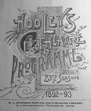 HOOLEY'S (POWERS') Theatre; Chicago, Illinois.