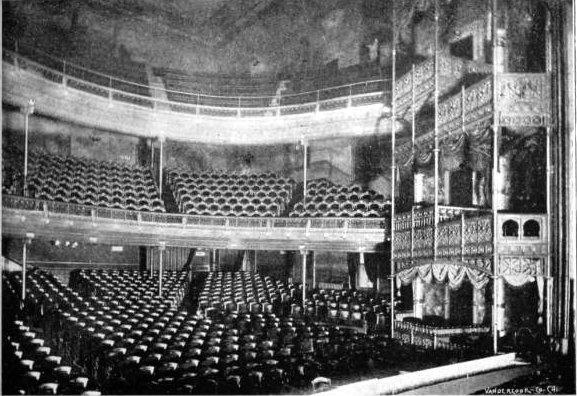 HOOLEY'S (POWERS') Theatre; Chicago, Illinois.