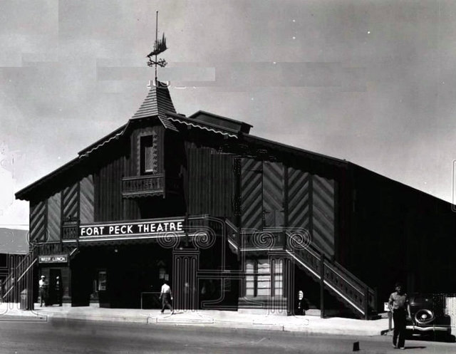 FORT PECK SUMMER Theatre; Fort Peck, Montana.