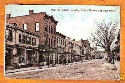 postcard image of Nelida and Post Office 1909