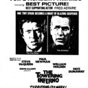 "TOROTNO STAR AD FOR ""THE TOWERING INFERNO"" HOLLYWOOD AND OTHER THEATRES"