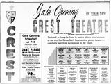 June 15th, 1960 grand opening ad