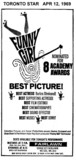 """TORONTO STAR AD FOR """"FUNNY GIRL - RESERVED SEATS"""" FAIRLAWN THEATRE"""