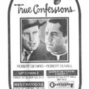 """TORONTO STAR AD FOR """"TRUE CONFESSIONS"""" SHERATON CENTRE CINEMA 2 AND OTHER THEATRES"""