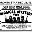 TORONTO STAR AD FOR MAGICAL MYSTERY TOUR - ROXY THEATRE