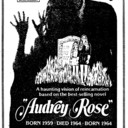 "TORONTO STAR AD FOR ""AUDREY ROSE"" IMPERIAL SIX THEATRE"