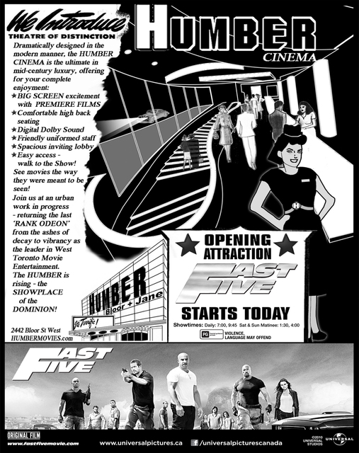 Humber 2011 Newspaper Ad