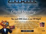 November 17th, 2006 grand opening ad