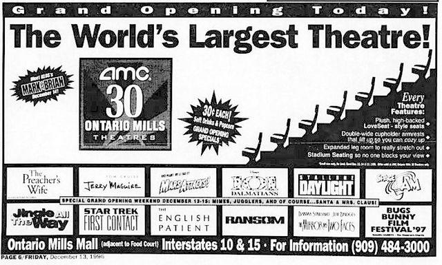 amc ontario mills 30 in ontario ca cinema treasures