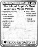 November 14th, 1997 grand opening ad