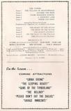 Panto Programme 1960