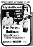 "TORONTO STAR AD FOR ""HOFFMAN"" CAPITOL THEATRE"