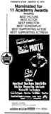 """TORONTO STAR AD FOR """"THE GODFATHER 2"""" IMPERIAL SIX AND OTHER THEATRES"""