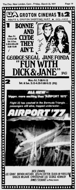 March 1977 Ad for Groton Twin