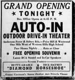 April 22nd, 1947 grand opening ad