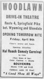 April 8th, 1948 grand opening ad