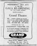 October 1st 1965 reopening ad