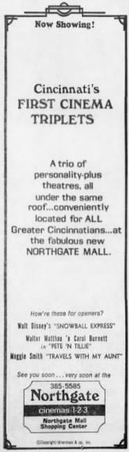 December 22nd, 1973 grand opening ad