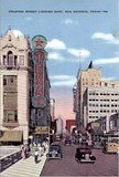 Texas & Majestic Theatres ... San Antonio Texas
