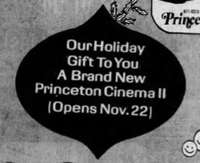 November 17th, 1972 grand opening ad for the twin