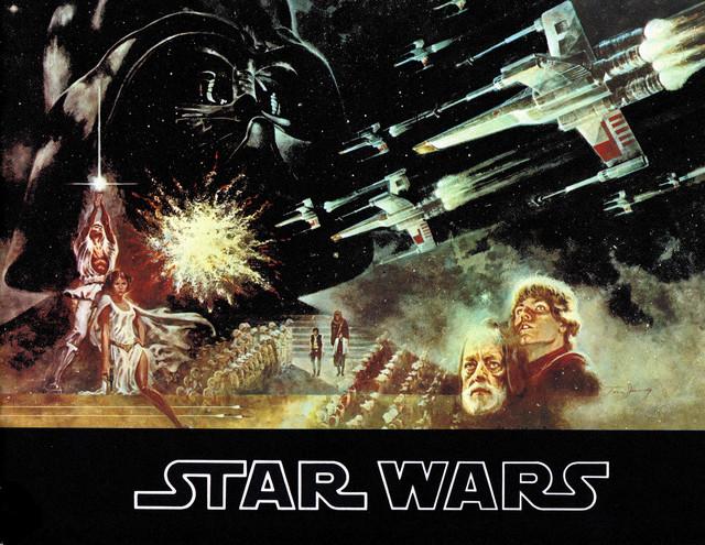 "SOUVENIR PROGRAM ""STAR WARS"""