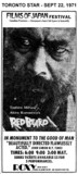 "TORONTO STAR AD FOR ""REDBEARD"" ROXY THEATRE"