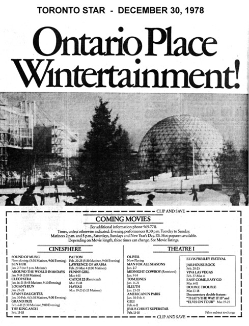 TORONTO STAR AD FOR