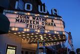 Iowa Theatre Winterset Setting The Marquee