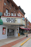 Iowa Theatre Winterset now closed